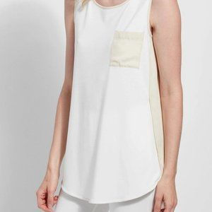 Lysse Caterina Sleeveless Top White